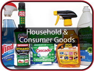 Household and Consumer Goods Label Icon Image