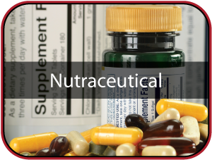 Nutraceutical Label Icon Image